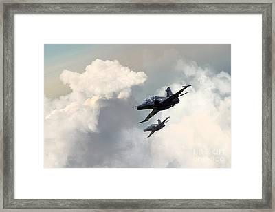 Valley Hawks Framed Print