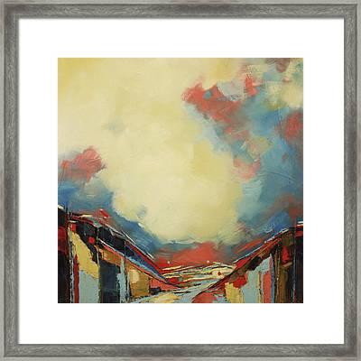 Valley Iv Framed Print by Sweet Murmur