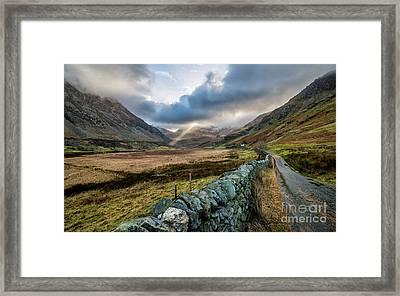 Valley Light Framed Print