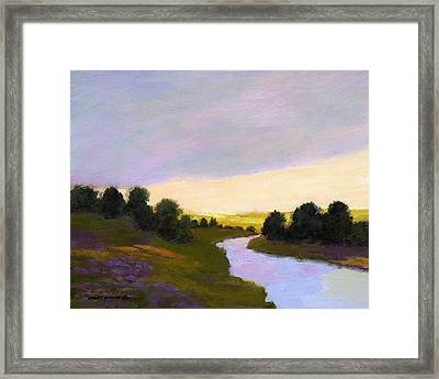 Valley Light Framed Print