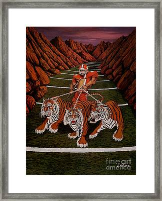 Valley Of Death Framed Print
