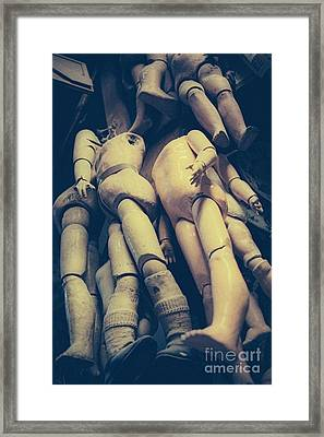 Valley Of Dolls 4 Framed Print by Danilo Piccioni