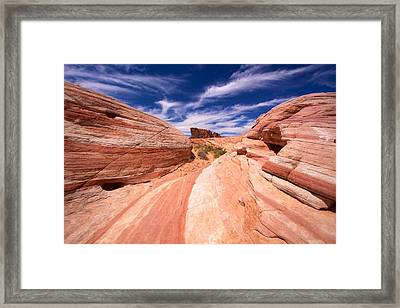 Valley Of Fire 2 Framed Print