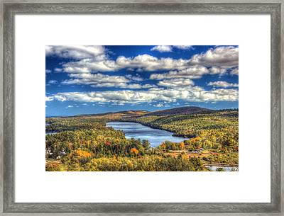 Valley Of The Clouds Framed Print