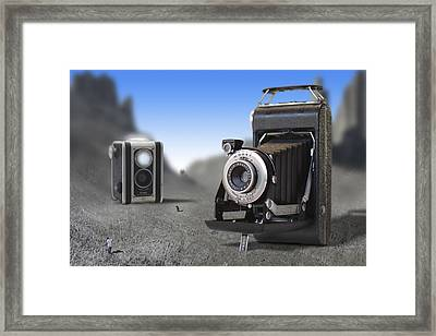 Valley Of The Fallen II Framed Print by Mike McGlothlen