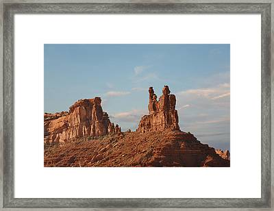 Valley Of The Gods - Escape From Civilization Framed Print by Christine Till