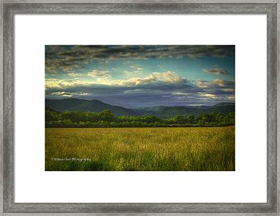 Valley Of The Gods Framed Print by Paul Herrmann