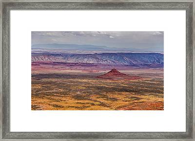 Valley Of The Gods Framed Print by Pierre Leclerc Photography