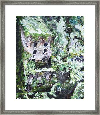 Valley Of The Mills Framed Print