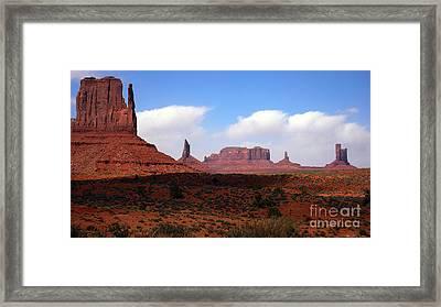 Valley Of The Rocks Framed Print by Thomas R Fletcher