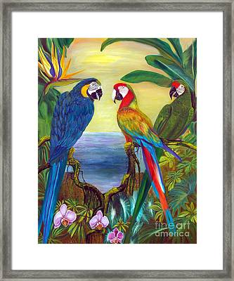 Valley Of The Wings Framed Print
