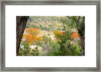 Framed Print featuring the photograph Valley Pleasure by David  Norman