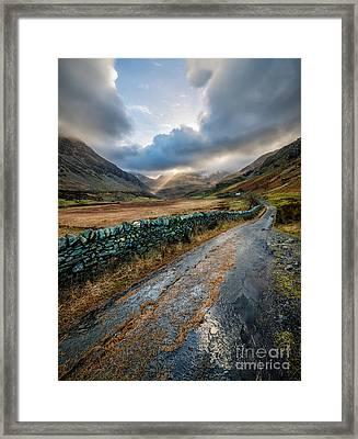 Valley Sunlight Framed Print