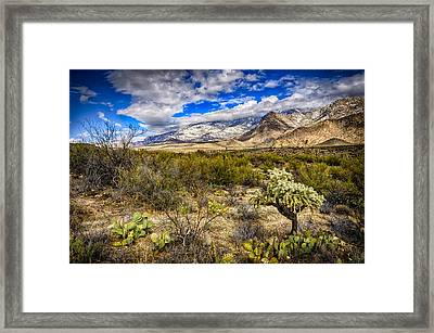 Framed Print featuring the photograph Valley View 27 by Mark Myhaver