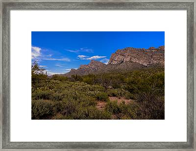 Valley View No.6 Framed Print