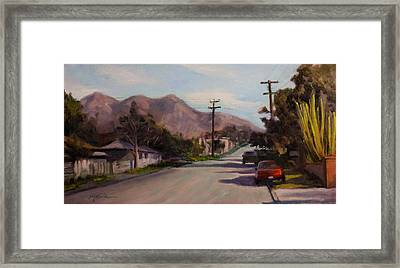 Valmont Framed Print by Athena Mantle