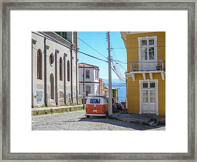 Valparaiso Chile Framed Print by Eric Dewar