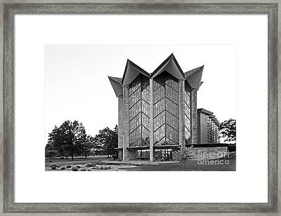 Valparasio University Chapel Of The Ressurection Framed Print by University Icons