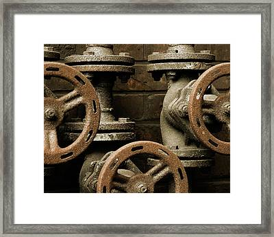 Valves Framed Print