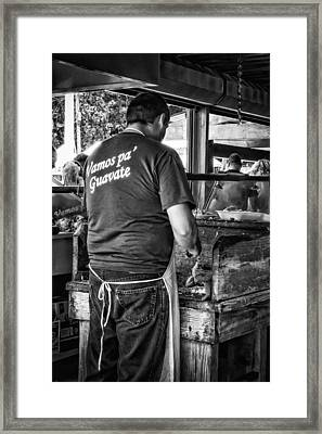 Vamos Pa Guavate Framed Print by Giovanni Arroyo