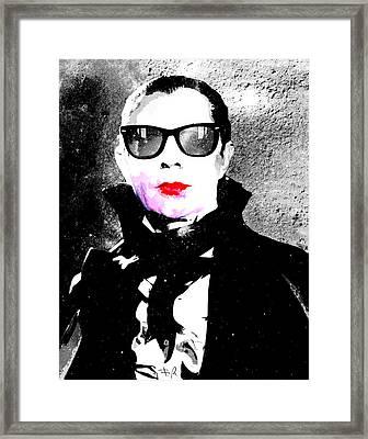 Vamp Glam Framed Print by Filippo B