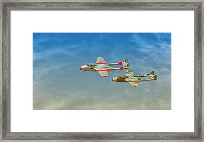 Vampire Jets Framed Print by Johan Combrink