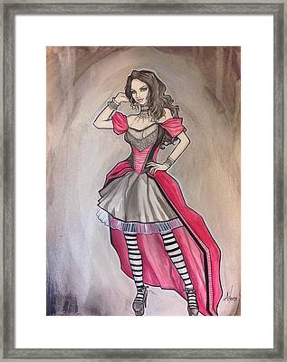 Vampire Mihela Framed Print