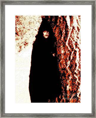 Vampire Red  Framed Print