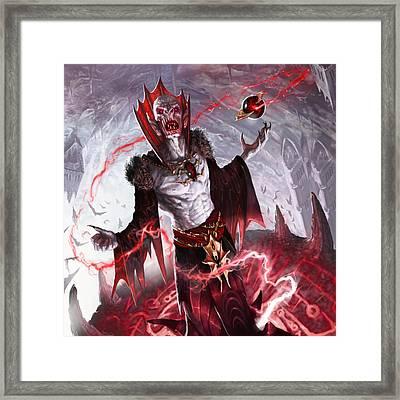 Vampire Soul-channeler Framed Print by Ryan Barger