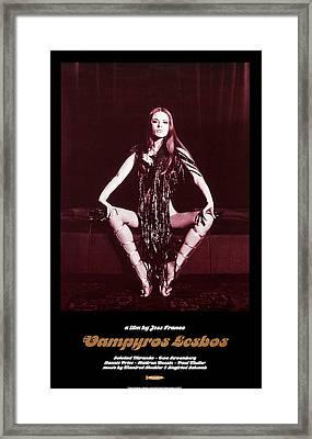 Vampyros Lesbos, Us Poster, Soledad Framed Print