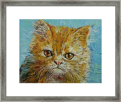 Van Gogh Framed Print by Michael Creese