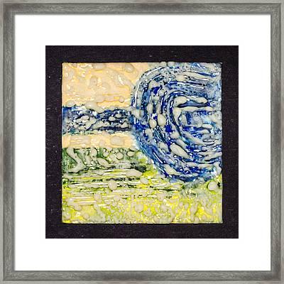 Van Gogh Sky Framed Print by Carmen Williams