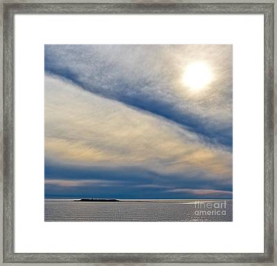 Van Gogh Sky Framed Print by Don Hall