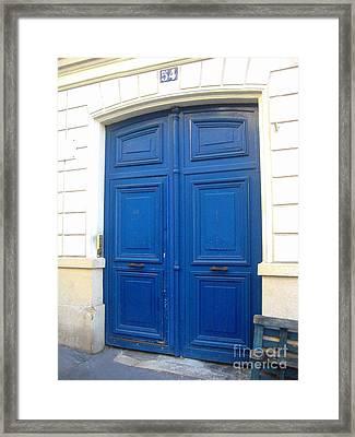 Van Gogh's Blue Door Framed Print by Europe  Travel Gallery