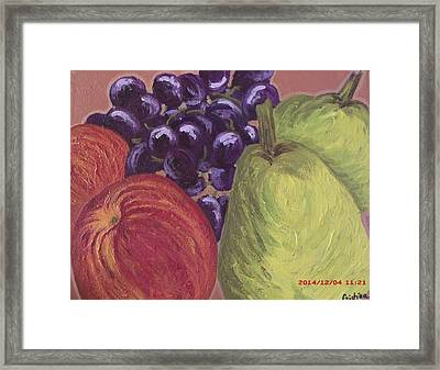 Van Gogh's Fruits Framed Print