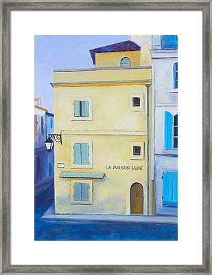 Van Gogh's Yellow House In Arles Framed Print