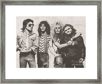 Van Halen Framed Print by Jeff Ridlen