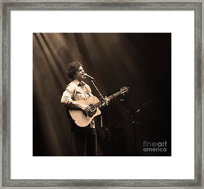 Vance Joy - Denver Framed Print