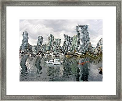 Vancouver Abstracted Framed Print