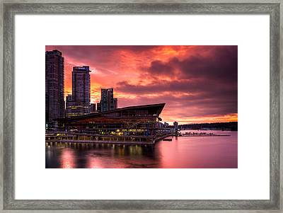 Vancouver Apocalypse Framed Print