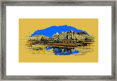 Vancouver Art 001 Framed Print by Catf