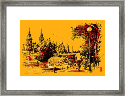 Vancouver Art 002 Framed Print by Catf