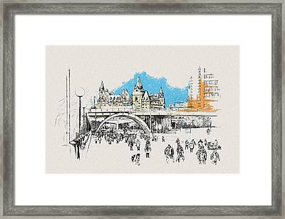 Vancouver Art 003 Framed Print by Catf