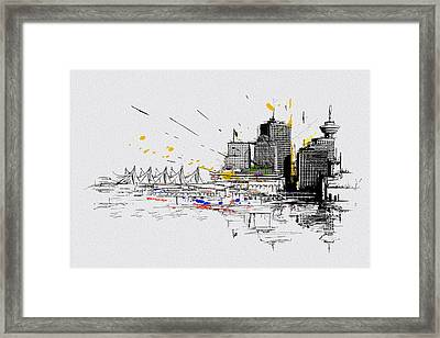 Vancouver Art 004 Framed Print by Catf
