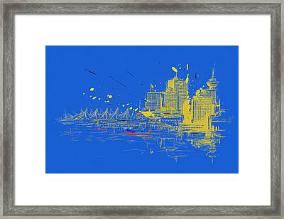Vancouver Art 005 Framed Print by Catf
