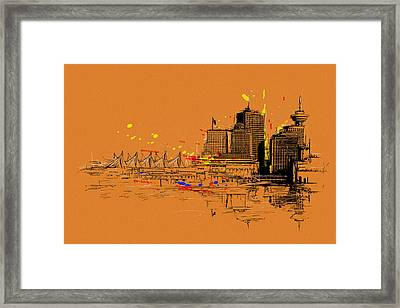 Vancouver Art 006 Framed Print by Catf