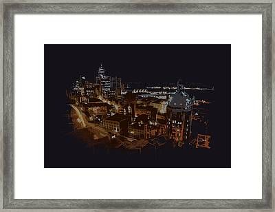 Vancouver Art 009 Framed Print by Catf