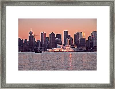 Vancouver Bc Framed Print by Brian Chase