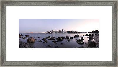Vancouver From Stanley Park Framed Print