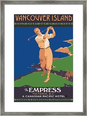 Vancouver Island Framed Print by Gary Grayson